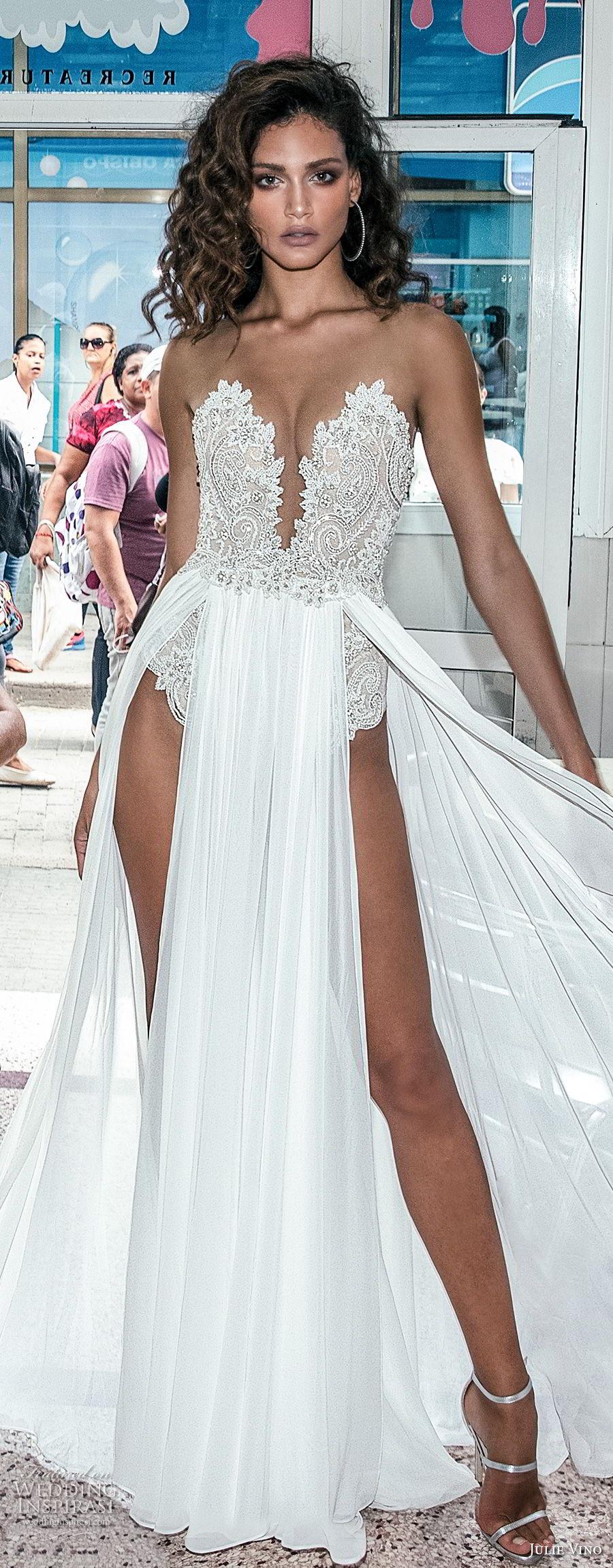 Julie Vino Fall 2018 Wedding Dresses  Havana Bridal Collection  Wedding Inspirasi