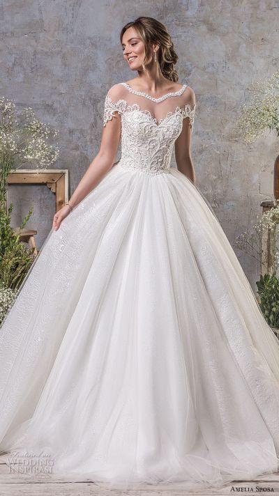 Amelia Sposa Fall 2018 Wedding Dresses | Wedding Inspirasi