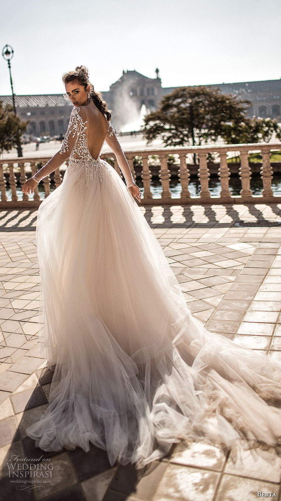 Berta Fall 2018 Wedding Dresses Crazyforus