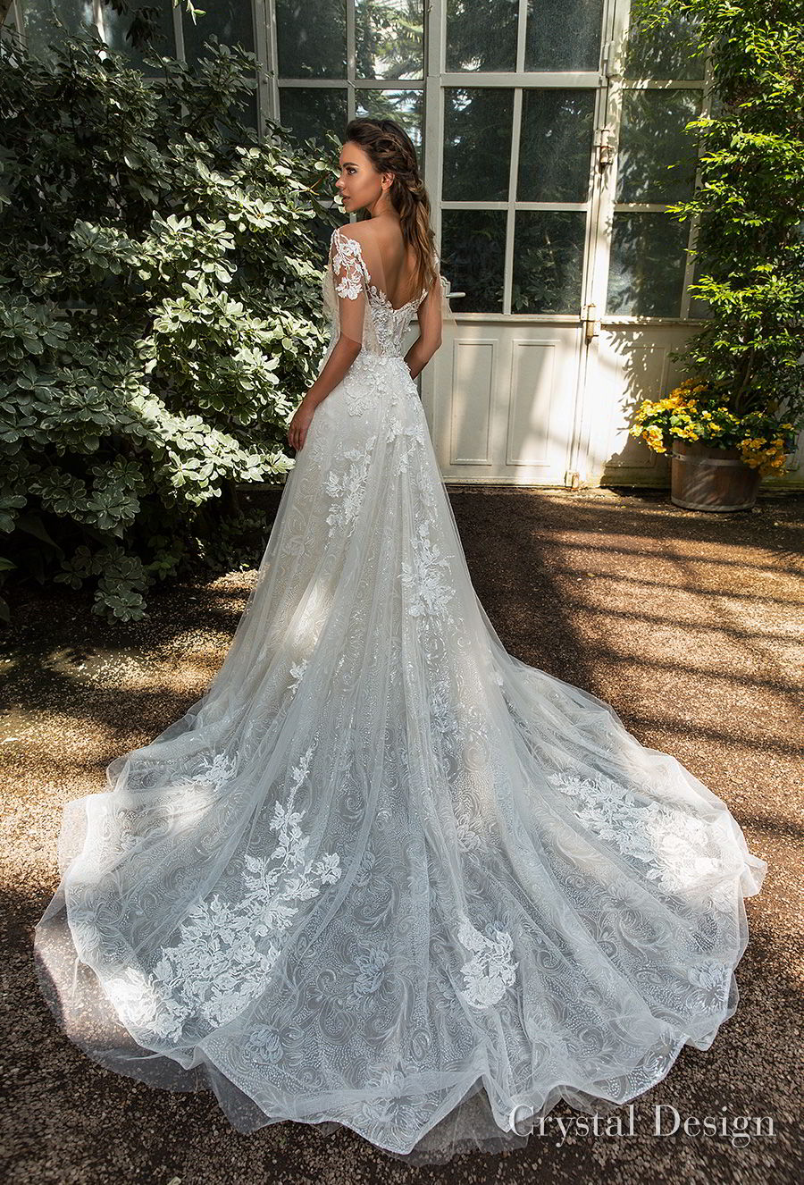 Crystal Design 2018 Wedding Dresses Royal Garden
