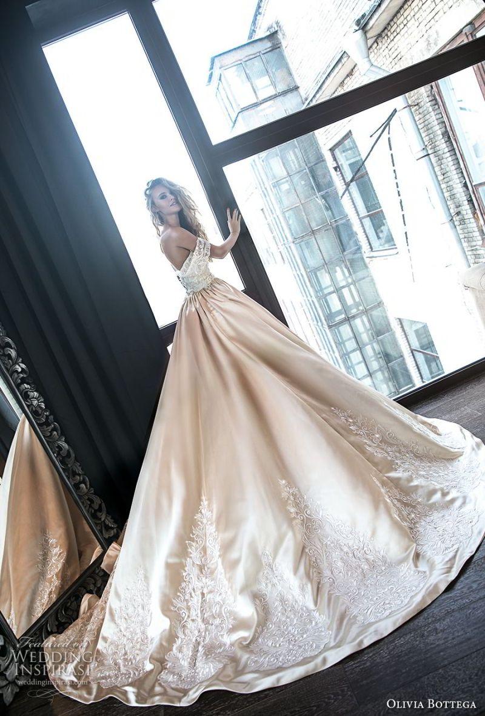 olivia bottega 2018 bridal off the shoulder sweetheart neckline full embellishment elegant romantic fit and flare wedding dress a  line overskirt chapel train (11) bv sdv