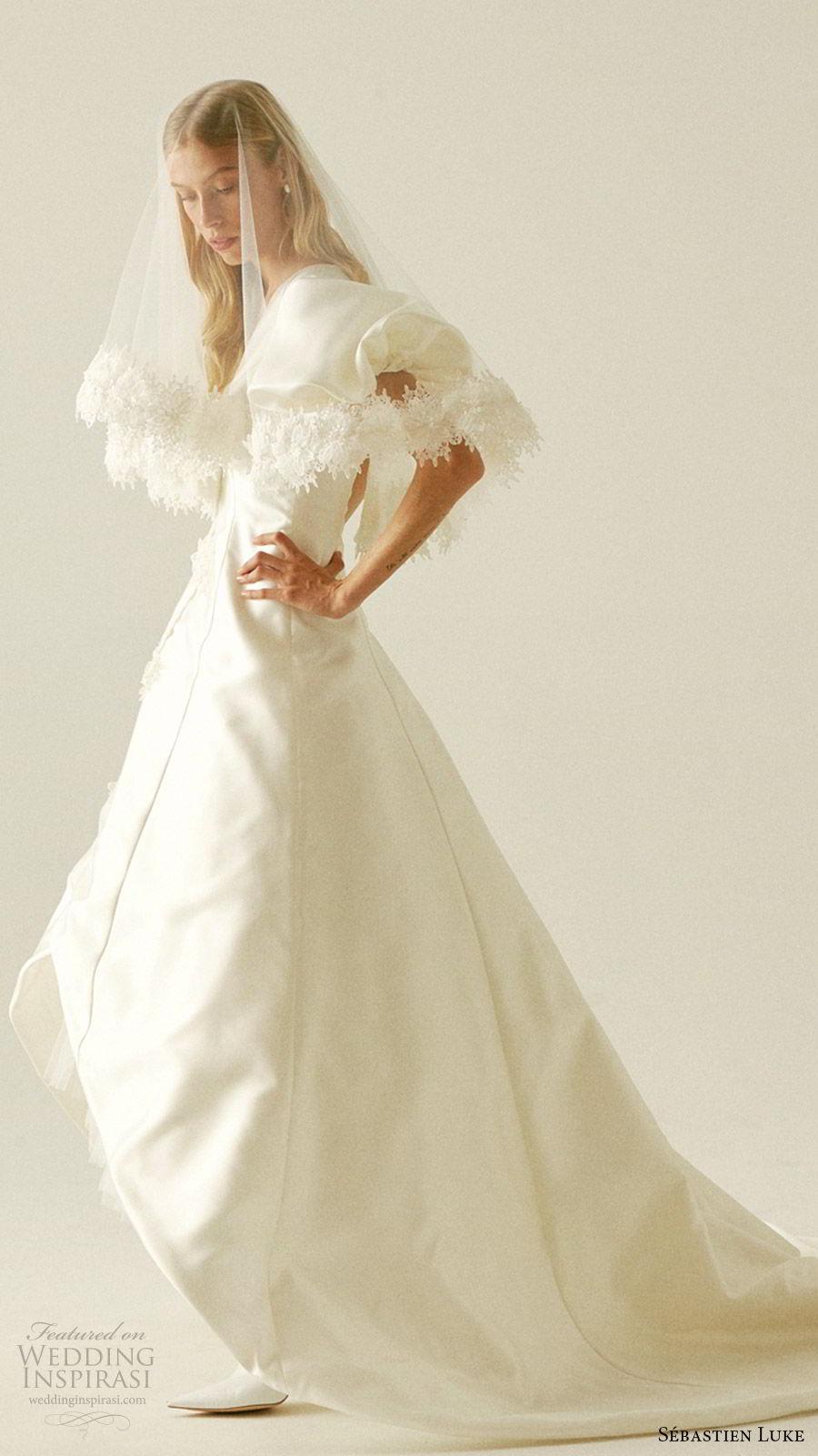 Sbastien Luke Fall 2019 Wedding Dresses  Wedding Inspirasi