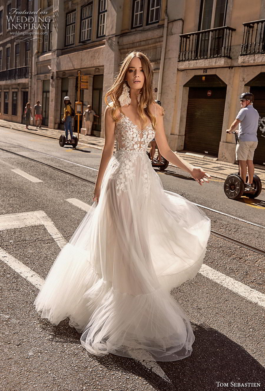 Tom Sebastien 2019 Wedding Dresses Lisbon Bridal Collection Wedding Inspirasi