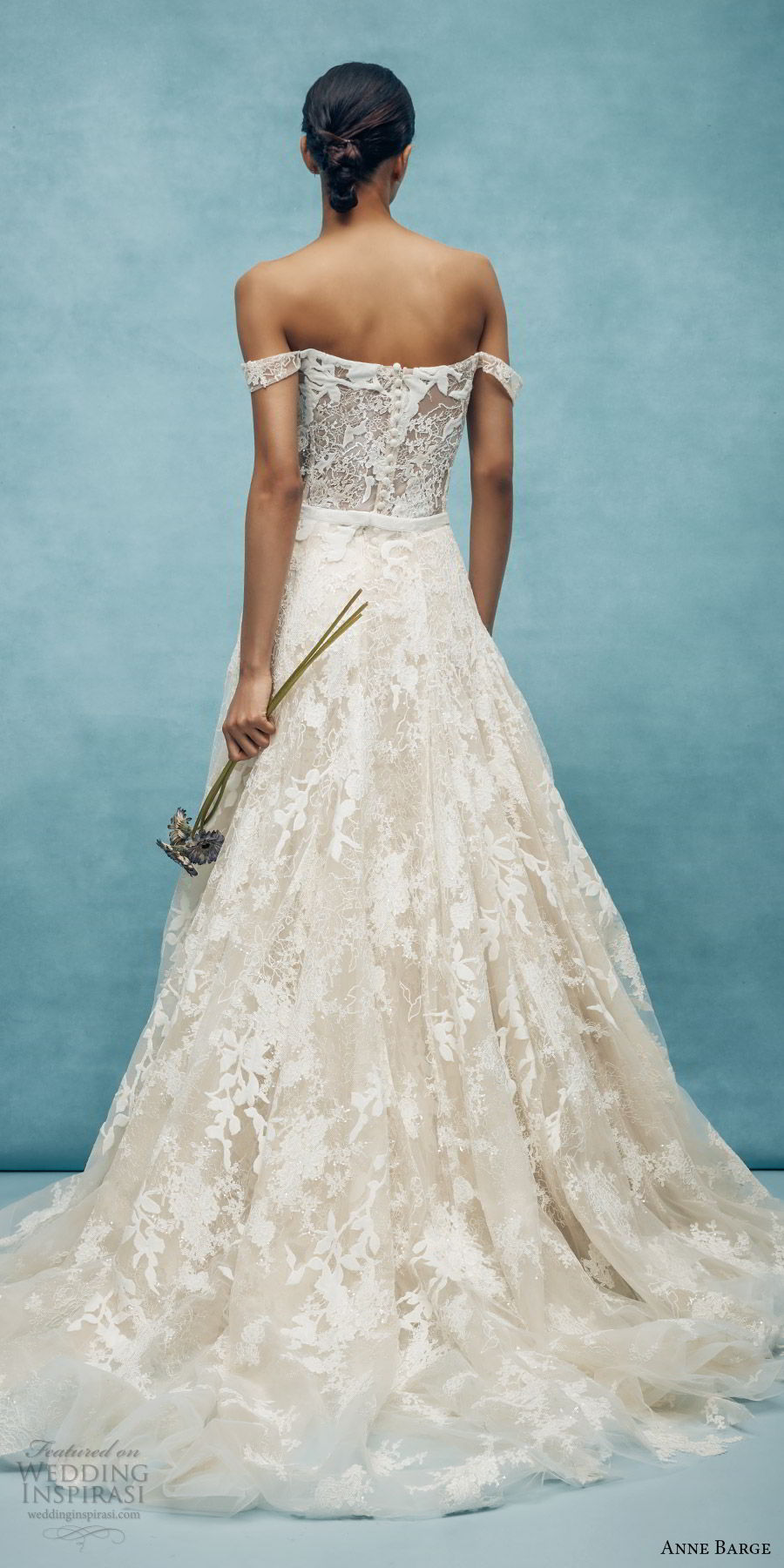 Anne Barge Spring 2020 Wedding Dresses  Wedding Inspirasi