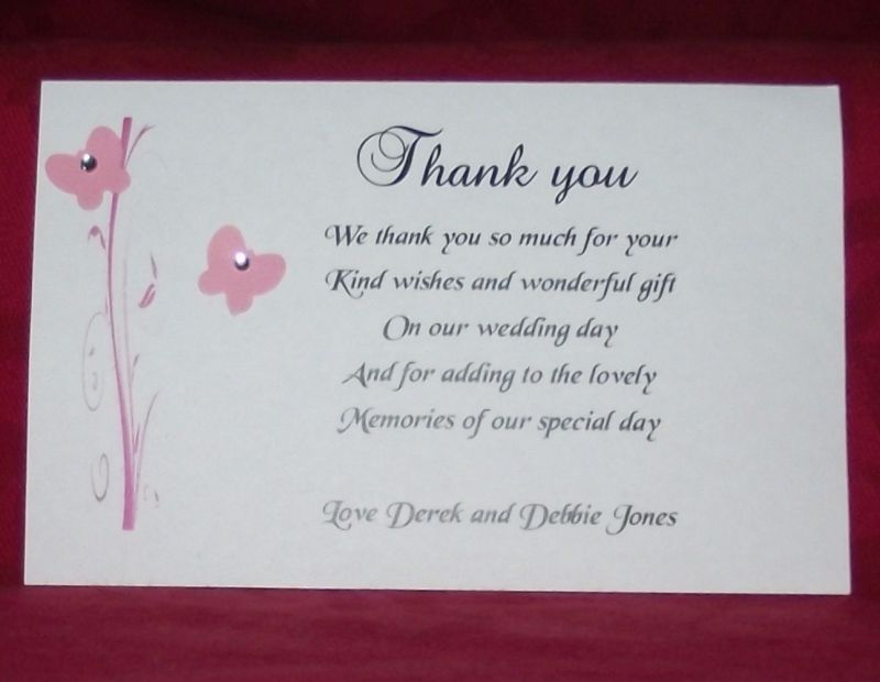 Thank You For Your Wedding Gift Cards Dealssite