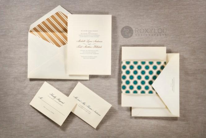 Hampton Wedding Invitations Staccato