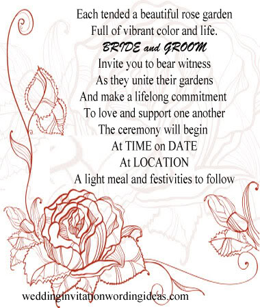 Ideas Wording Of Wedding Invitations From Bride And Groom Funny Invitation Verses For Friends
