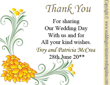 Writing Wedding Thank You Cards Complete Guide