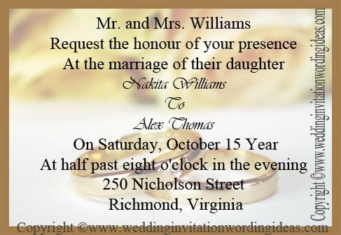 How to write wedding invitation card paperinvite wedding invitation wording ideas just another wordpress site stopboris Choice Image