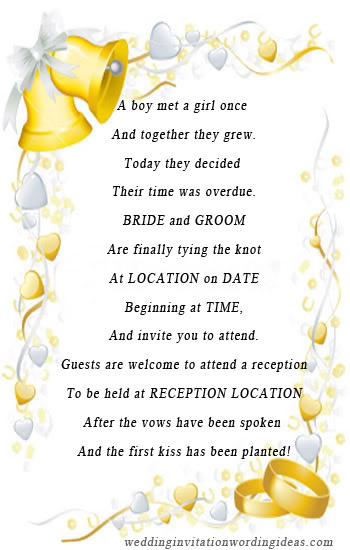 Unique Wedding Invitation Wording Tips