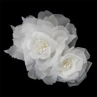 Bridal Hair Comb Wedding Hair Flower Augusta