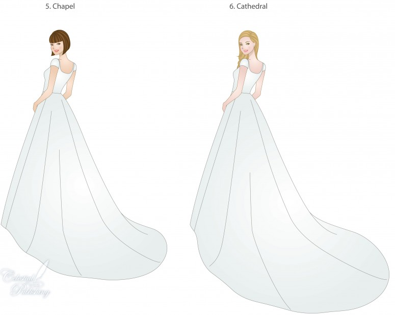 Wedding Trains Guide To Style Type And Length LDS