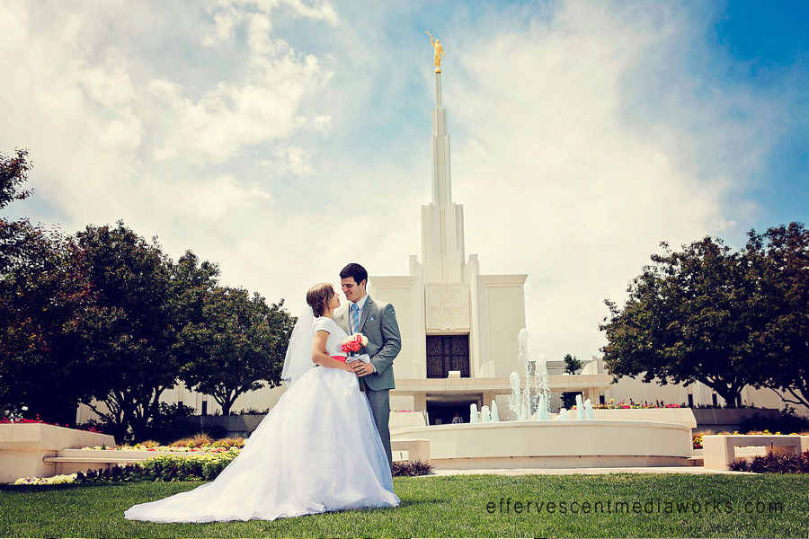 Jillian  Jon  LDS Wedding Planner
