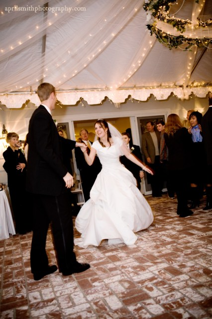 Live Dancing for LDS wedding receptions