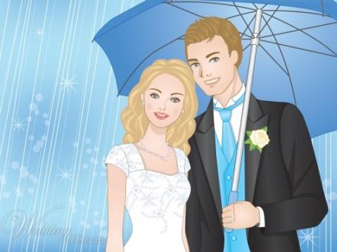 LDS bride LDS groom WeddingLDS.com