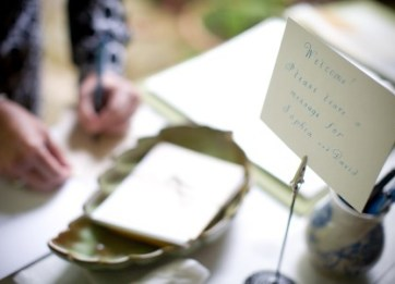 guest notes for LDS wedding receptions