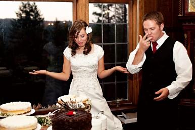 Wedding Cake Cutting Fees LDS Receptions