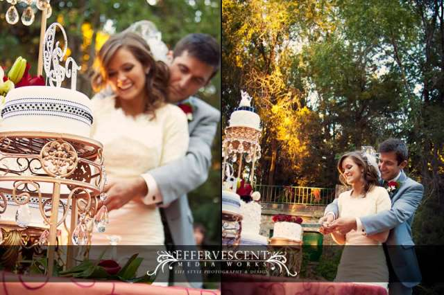 cake cutting, how to's for LDS brides and grooms