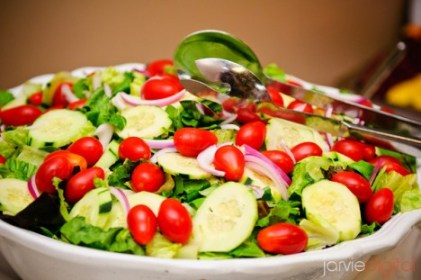 salad for an LDS reception
