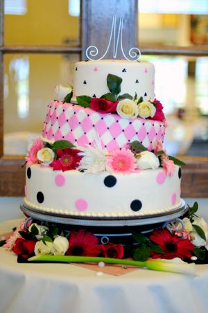 LDS reception unique wedding cakes