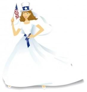 Patriotic Bride