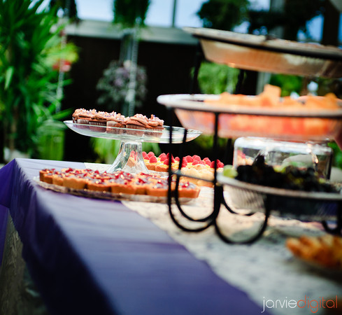 Reception buffet food ideas lds wedding receptions a catered table displayed with food solutioingenieria