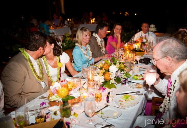 Sit down dinner ideas for LDS receptions