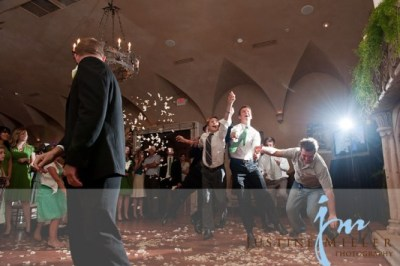 garter toss alternativesfor LDS wedding receptions