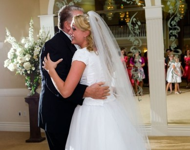 Father/Daughter Dance for LDS wedding receptions