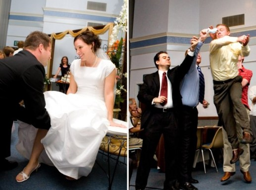 Garter Toss And Alternatives For LDS Wedding Receptions