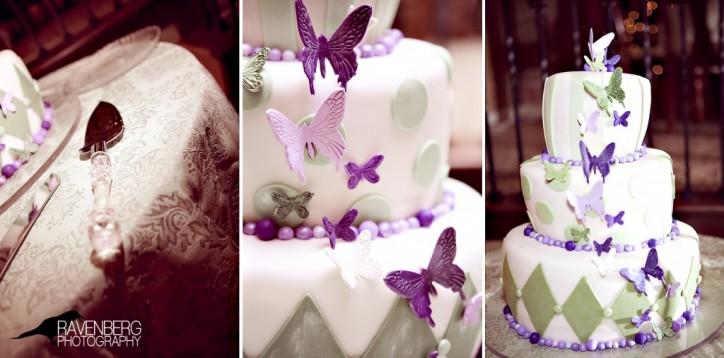 A Unique LDS wedding cake