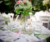 LDS Wedding reception, LDS Wedding linens