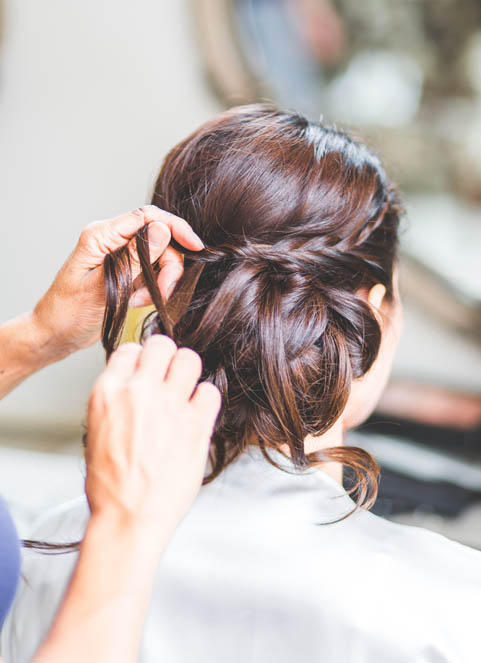 Half up Wedding Hairstyles Plaits  Braids  Wedding Make Up and Hair Stylist London