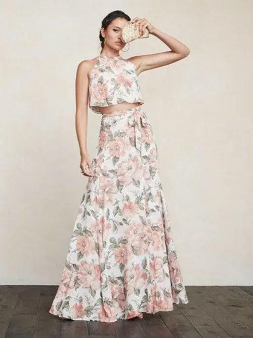 Crop Top Bridesmaids Outfit