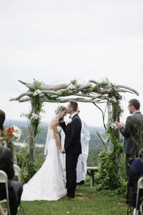 Woodland Wedding Arch