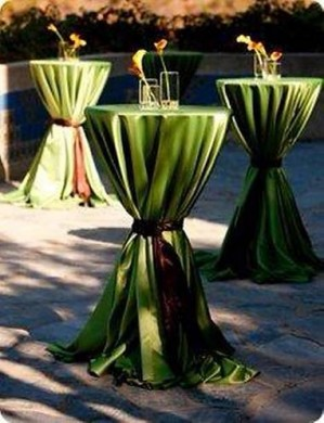 tables and chairs wedding party