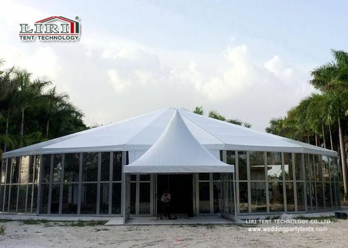 Round Big Top Circus Tent High Peak Marquees Windproof