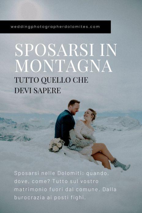 Sposarsi nelle Dolomiti: quando, dove, come? Tutto sul vostro matrimonio fuori dal comune. Dalla burocrazia ai posti fighi.