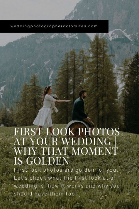 First Look Photos At Your Wedding Why That Moment Is Golden