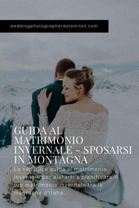 Guida Al Matrimonio Invernale - Sposarsi In Montagna