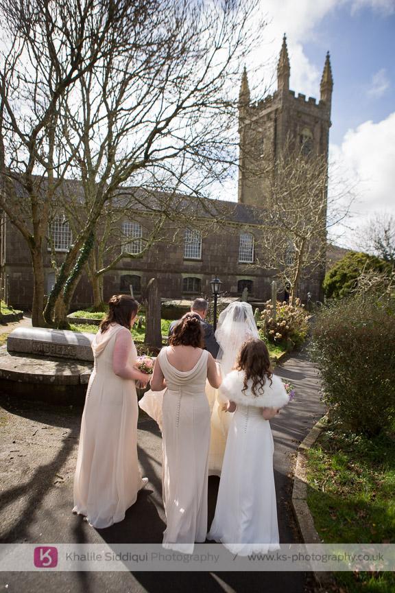 Ringing Bells After Wedding Ceremony