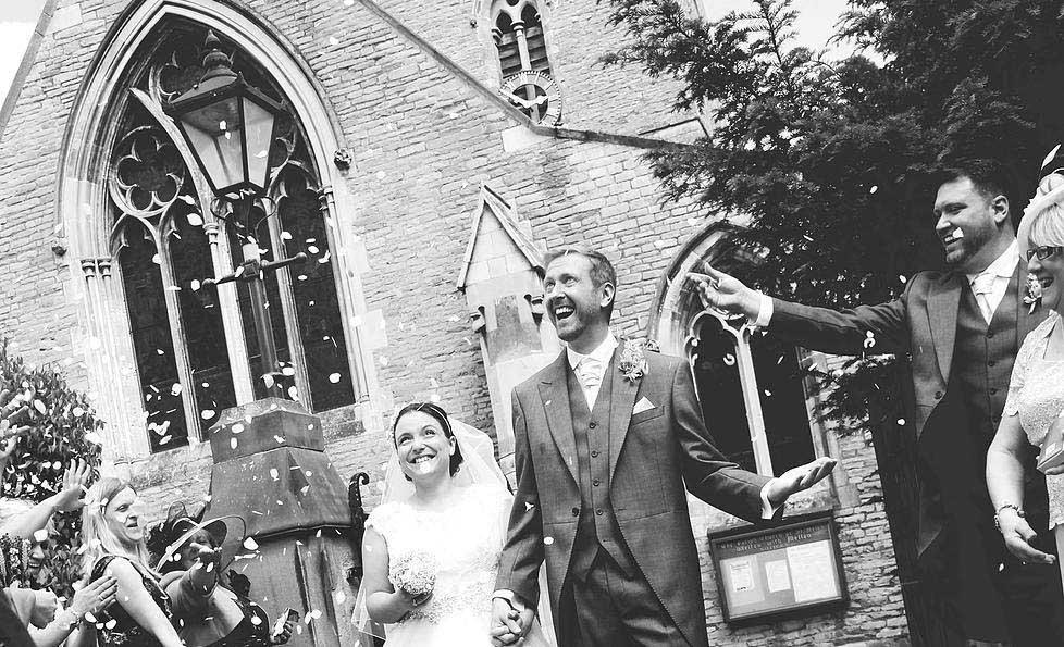 Jemma King Wedding -Bride and groom after wedding