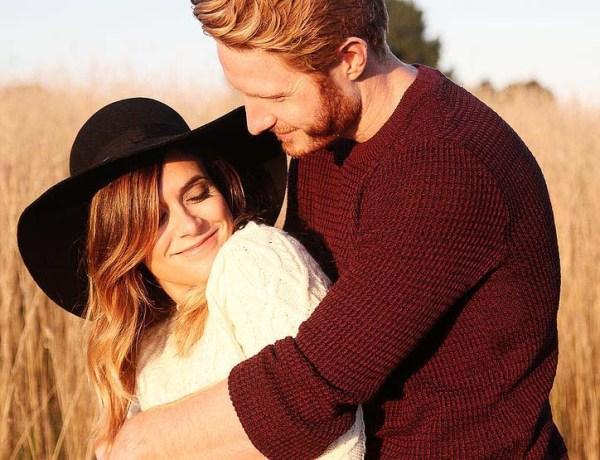 Jemma King Wedding - Couple hugging