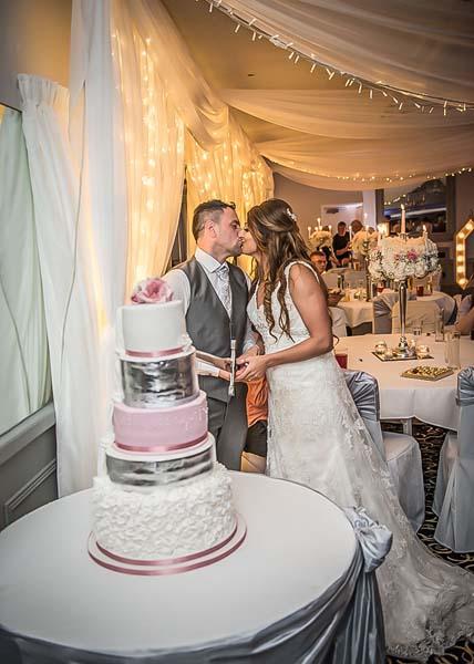 Wedding Cake at Stirk House Hotel
