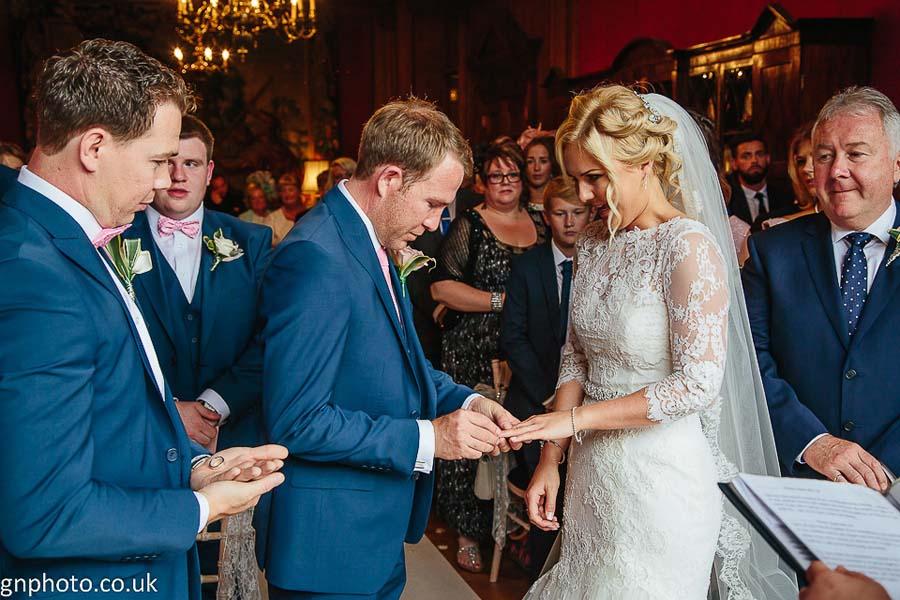 ring exchange at Thornton Manor
