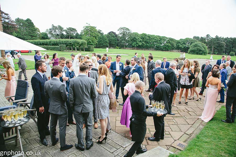 Guests at Thornton Manor