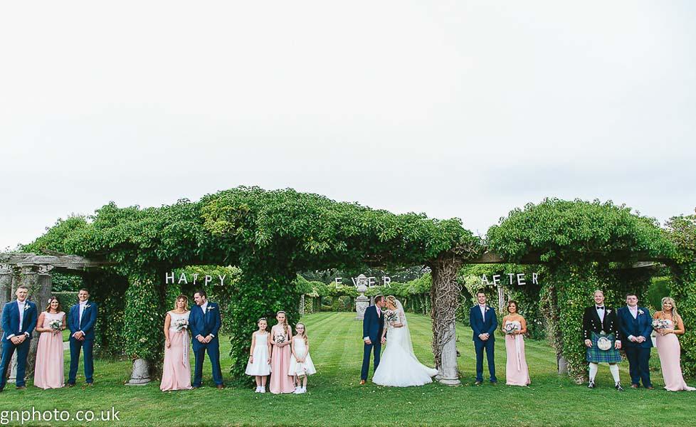 Trees at Thornton Manor wedding