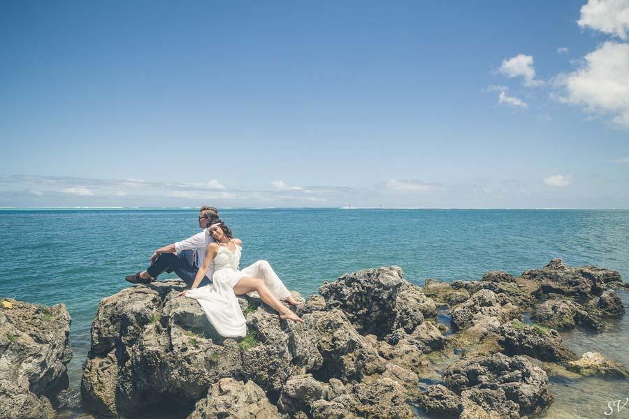 wedding photographer french polynesia sv photograph