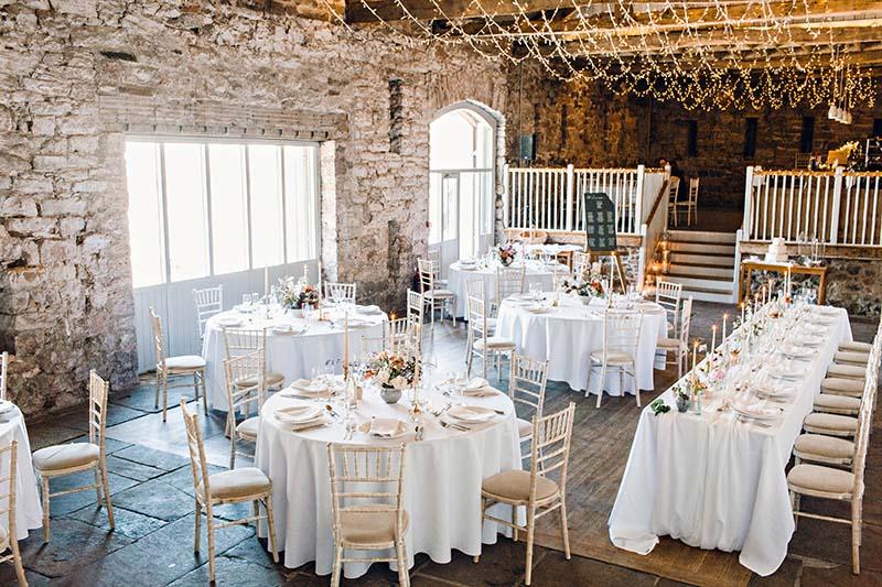 Barn Wedding Venue Aksham Hall Cumbria - North East