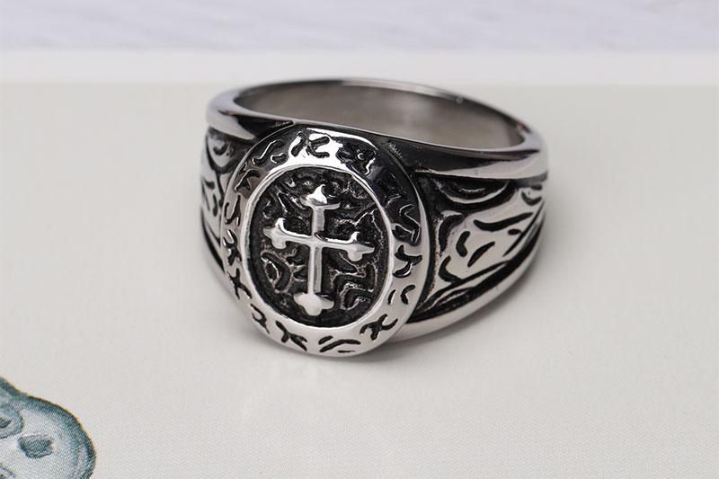 stunning stainless steel wedding ring